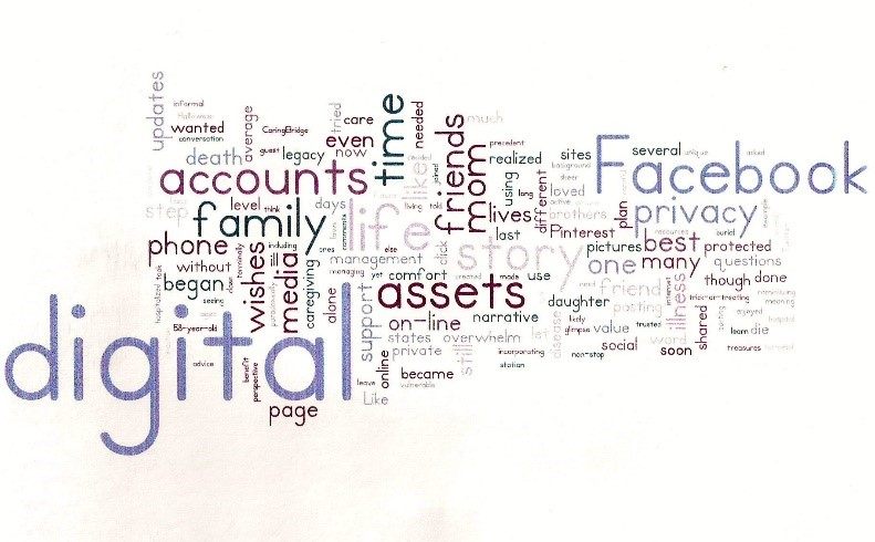 Managing online accounts after death